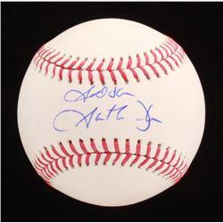 """Garth Brooks Signed OML Baseball Inscribed """"God Bless"""" (Beckett COA)"""