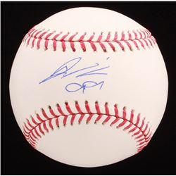 Hyun-jin Ryu Signed OML Baseball (JSA COA)