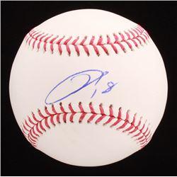 Kenta Maeda Signed OML Baseball (PSA COA)