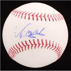 Wander Franco Signed OML Baseball (Beckett COA)