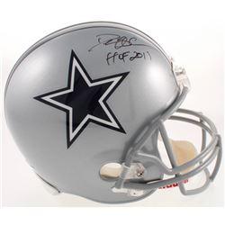 "Deion Sanders Signed Cowboys Full-Size Helmet Inscribed ""HOF 2011"" (PSA COA)"