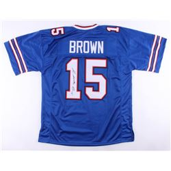 "John ""Smoke"" Brown Signed Jersey (JSA COA)"