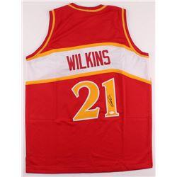 Dominique Wilkins Signed Jersey (JSA Hologram)