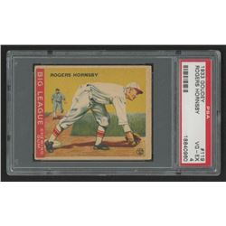 Rogers Hornsby 1933 Goudey #119 Field RC (PSA 4)