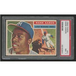 Hank Aaron 1956 Topps #31 (PSA 7)