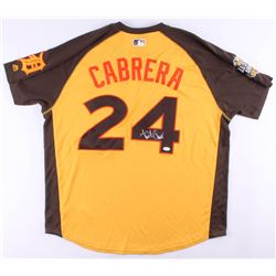 Miguel Cabrera Signed Tigers 2016 All-Star Game Jersey (JSA COA)