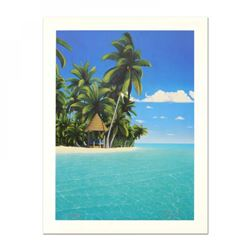 "Dan Mackin Signed ""The Cabana"" Limited Edition 12x16 Lithograph"