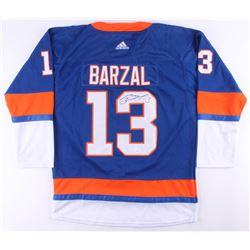 Mathew Barzal Signed Islanders Jersey (JSA COA)