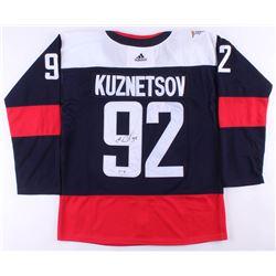 Evgeny Kuznetsov Signed Capitals Jersey (PSA COA)