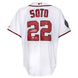Juan Soto Signed Washington Nationals Jersey (Fanatics Hologram)