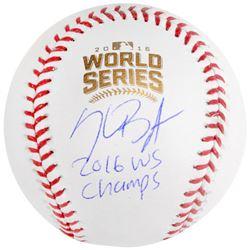 "Kris Bryant Signed 2016 World Series Baseball Inscribed ""2016 WS Champs"" (Fanatics Hologram  MLB Hol"