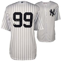 Aaron Judge Signed New York Yankees Jersey (Fanatics Hologram)