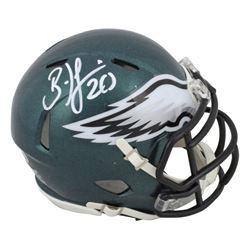 Brian Dawkins Signed Philadelphia Eagles Mini Speed Helmet (Beckett COA)