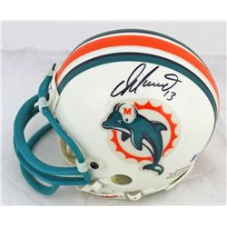 Dan Marino Signed Dolphins Throwback Mini Helmet (Beckett COA)