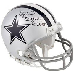Ezekiel Elliott Signed Dallas Cowboys Mini Helmet (Fanatics Hologram)