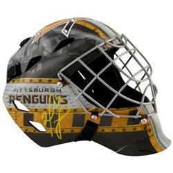 Matt Murray Signed Pittsburgh Penguins Full-Size Goalie Mask (Fanatics Hologram)