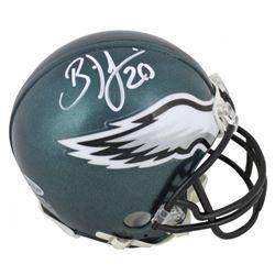 Brian Dawkins Signed Philadelphia Eagles Mini Helmet (Beckett COA)