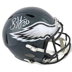 Brian Dawkins Signed Eagles Full-Size Speed Helmet (Beckett COA)