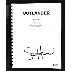 """Sam Heughan Signed """"Outlander: Sassenach"""" Episode Script (Beckett COA)"""