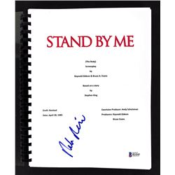 """Rob Reiner Signed """"Stand By Me"""" Movie Script (Beckett COA)"""
