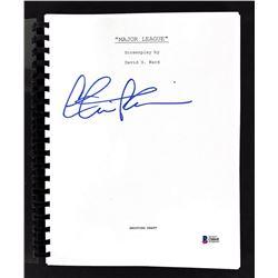 "Charlie Sheen Signed ""Major League"" Movie Script (Beckett COA)"
