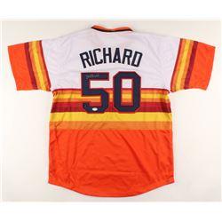 J. R. Richard Signed Jersey (PSA COA)