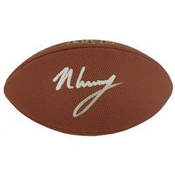 N'Keal Harry Signed NFL Football (Beckett COA)