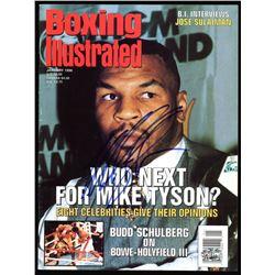 Mike Tyson Signed 1996 Boxing Illustrated Magazine (PSA COA)