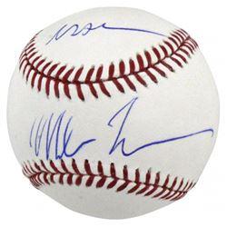 "Mike Tyson Signed OML Baseball Inscribed ""Iron"" (PSA COA)"