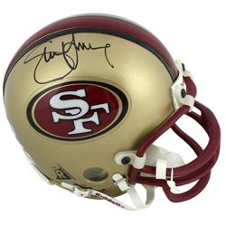 Steve Young Signed 49ers Mini Helmet (Beckett COA)