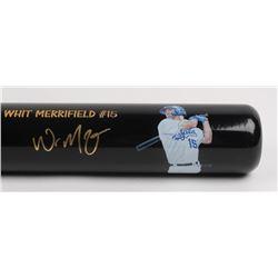 Whit Merrifield Signed LE Royals 31-Game Hitting Streak Baseball Bat (JSA COA  MLB Hologram)