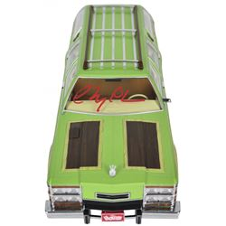 """Chevy Chase Signed LE """"National Lampoon's Vacation"""" 1979 Wagon Queen Family Truckster 1:18 Die-Cast"""