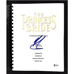 "Mandy Patinkin Signed ""The Princess Bride"" Movie Script (Beckett COA)"