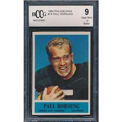 Paul Hornung 1964 Philadelphia #74 (BCCG 9)