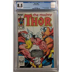 "1983 ""Thor"" Issue #338 Marvel Comic Book (CGC 8.5)"