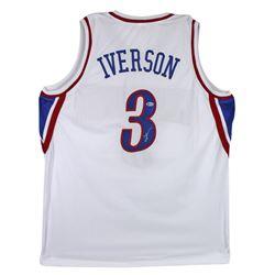 Allen Iverson Signed Jersey (Beckett COA)