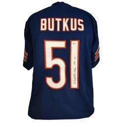 """Dick Butkus Signed Jersey Inscribed """"HOF 79"""" (Beckett COA)"""