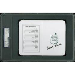 Doug Ford Signed Augusta National Golf Club Scorecard (PSA Encapsulated)