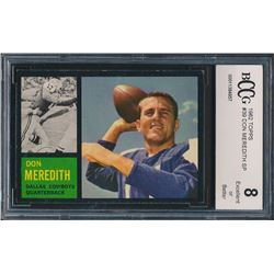 Don Meredith 1962 Topps #39 (BCCG 8)