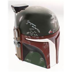 """Jeremy Bulloch Signed """"Star Wars"""" Boba Fett Full-Size Helmet Inscribed """"Boba Fett"""" (Beckett COA)"""