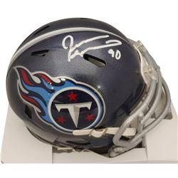 Jevon Kearse Signed Titans Speed Mini Helmet (Beckett COA)