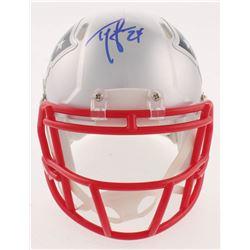 Ty Law Signed Patriots Speed Mini Helmet (Beckett COA)