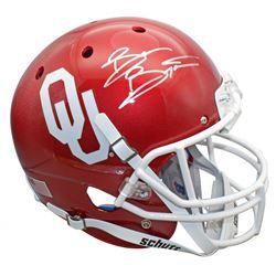 Brian Bosworth Signed Oklahoma Sooners Mini Helmet (Beckett COA)