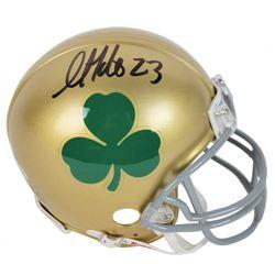 Golden Tate Signed Notre Dame Fighting Irish Mini Helmet (Beckett COA)