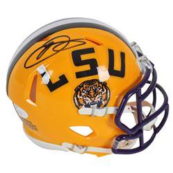 Odell Beckham Jr. Signed LSU Tigers Speed Mini Helmet (JSA COA)