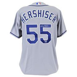 Orel Hershiser Signed Dodgers Jersey (Beckett COA)