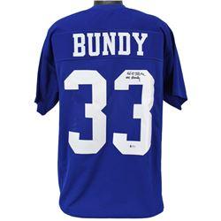 "Ed O'Neill Signed Jersey Inscribed ""Al Bundy"" (Beckett COA)"
