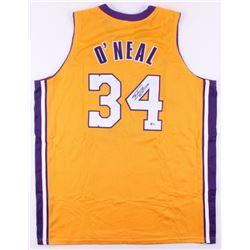 Shaquille O'Neal Signed Jersey (Beckett COA)