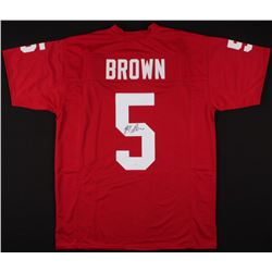 Marquise Brown Signed Jersey (JSA COA)