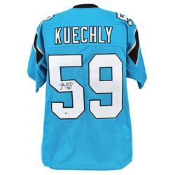 Luke Kuechly Signed Jersey (Beckett COA)
